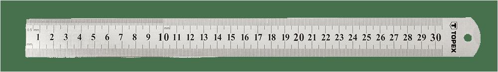 Flexibele RVS Linialen met millimeterverdeling
