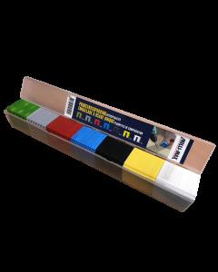 MilliMax-Mixpak met alle dikte maten uitvulplaatjes 1-10mm
