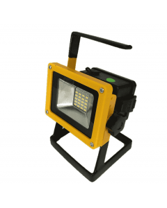 LED bouwlamp 20 Watt 20 leds oplaadbaar met statief