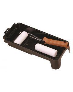 Schuimroller set met bakje, beugel en 2 rollers 10cm