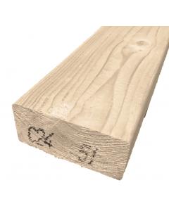 Vuren hout geschaafd 44x95mm