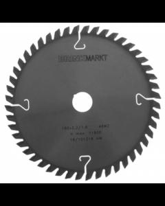 BRINKmarkt Cirkelzaagblad 160x20MM Z-48WZ voor hout en kunststof