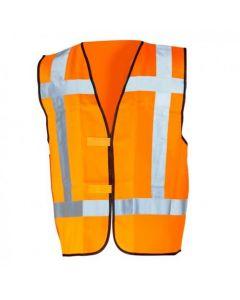 Veiligheidsvest fluor oranje class 2 maat-XL