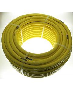 Tricotech Waterslang 12.5x17mm geel gewapende slang 25mtr