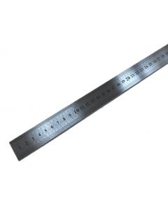 RVS Liniaal 1000mm met millimeter verdeling