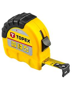 Topex Rolmaat 5 meter shiftlock 27C305