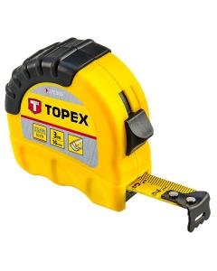 Topex Rolmaat 3 meter shiftlock 27C303
