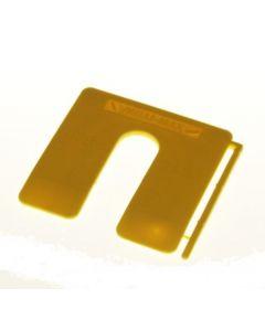 MilliMax uitvulplaatjes 2mm geel 200st