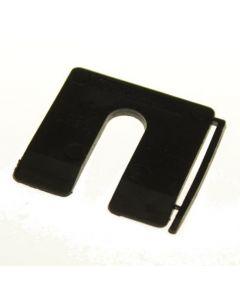 MilliMax uitvulplaatjes 3mm zwart 130st