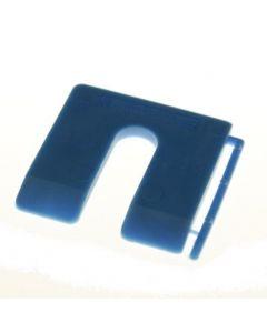 MilliMax uitvulplaatjes 4mm blauw 100st