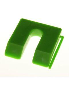 MilliMax uitvulplaatjes 10mm groen 40st