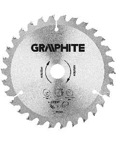 Graphite zaagblad 140mm voor hout en kunststof