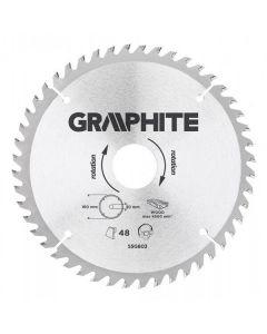Graphite zaagblad 160mm voor hout en kunststof