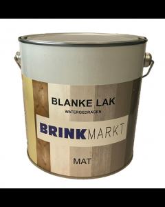 BM Blanke Lak Mat watergedragen