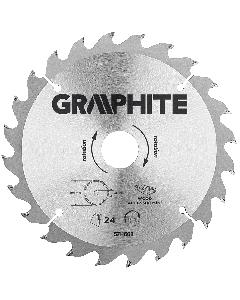 Graphite zaagblad 190mm voor hout en kunststof