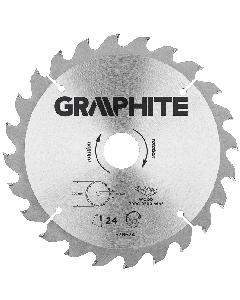 Graphite zaagblad 200mm voor hout en kunststof