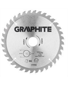 Graphite zaagblad 205mm voor hout en kunststof