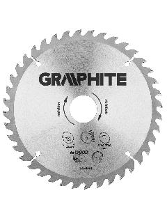 Graphite zaagblad 235mm voor hout en kunststof