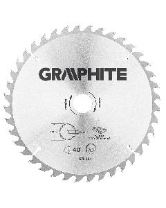 Graphite zaagblad 250mm voor hout en kunststof