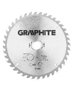Graphite zaagblad 255mm voor hout en kunststof