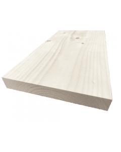 Steigerhout planken geschaafd gedroogd 27x196mm x de gewenste lengte in millimeters opmaat