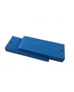 MilliMax Wiggen blauw kunststof 75x30x10mm 68 stuks