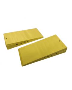 MilliMax Wiggen geel kunststof 100x45x18mm 45 stuks